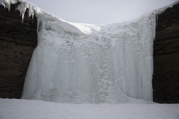 Photo de View of an icefall in Sassendalen -  - Europe