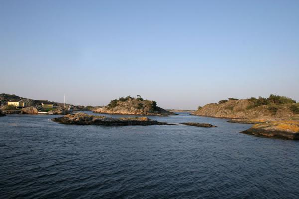 Foto de Some of the islands of Gothenburg archipelagoArchipiélago de Gotenburgo - Suecia