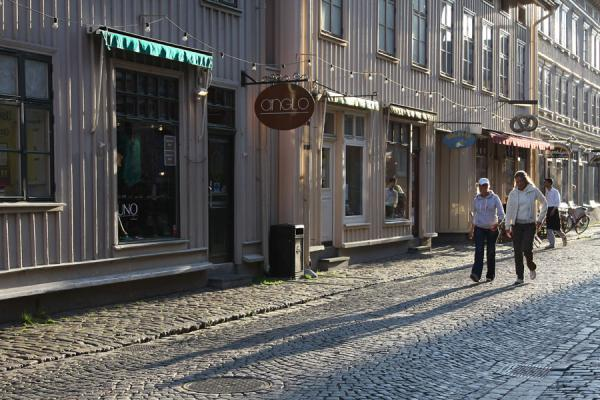 Picture of Walking in a shopping street in Haga