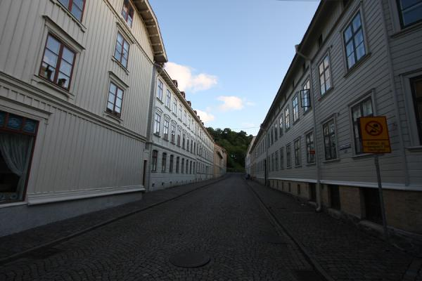Empty street in Haga | Haga | Sweden