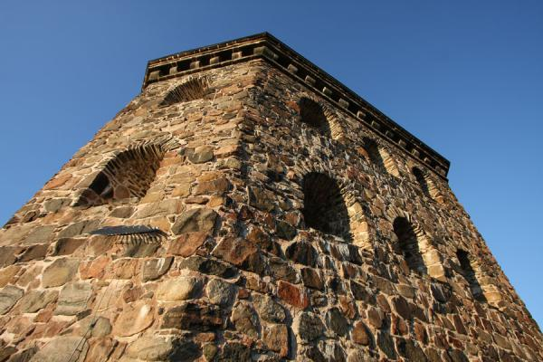 Picture of Skansen Kronan or Skansen Crown: fortification overlooking HagaGothenburg - Sweden