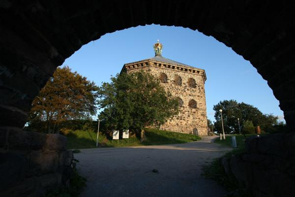 Picture of Skansen Kronan on a hill overlooking HagaGothenburg - Sweden