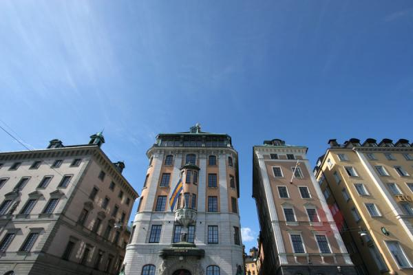 Picture of Stockholm waterfront (Sweden): Looking at Gamla Stan from the waterfront
