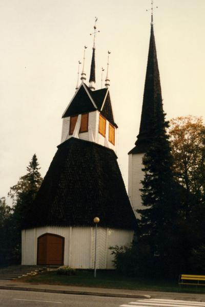Picture of Typical church in Tornio, northern SwedenLappland - Sweden