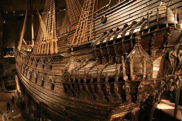 Vasa seen from behind | Vasa Museum | Sweden