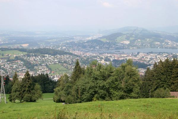 Picture of Fräkmüntegg (Switzerland): View over Lucerne
