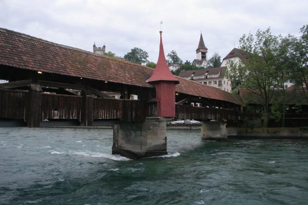 Picture of Speuerbrücke seen from the side of the river Reuss