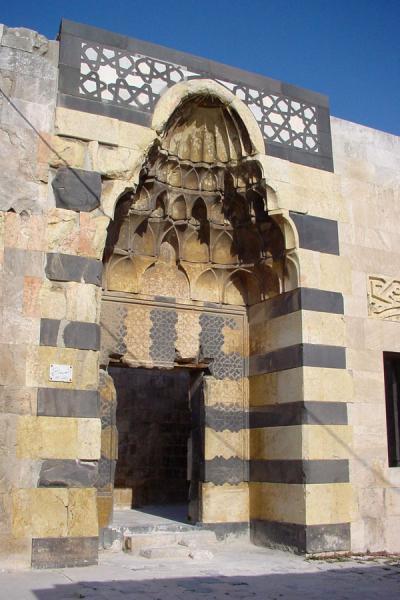 Picture of Aleppo Citadel (Syria): Portal inside Aleppo Citadel