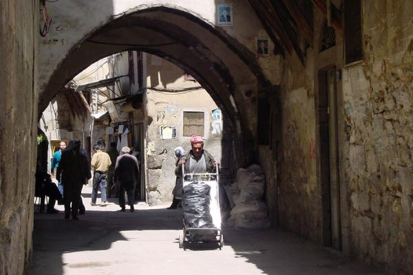 Picture of Damascus' old city