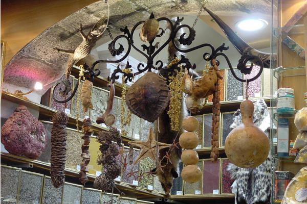 Picture of Damascus' old city (Syria): Local medicine at Damascus souq