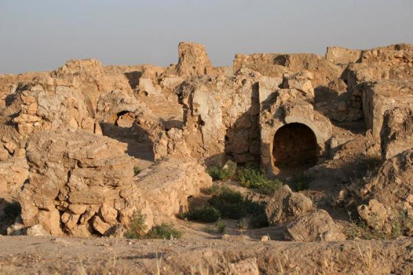 Picture of Doura Europos (Syria): Remains of Doura Europos