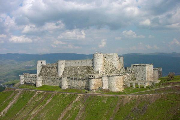 Photo de Syrie (Overview of Krak des Chevaliers)
