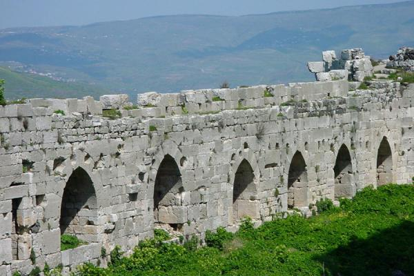 Outer wall of Krak des Chevaliers | Krak des Chevaliers | Syria