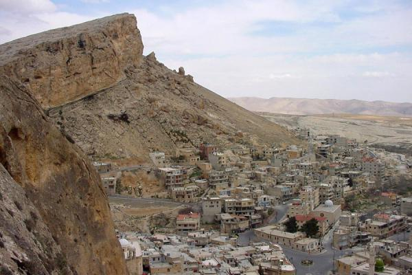 Picture of Maloula (Syria): Maloula from above