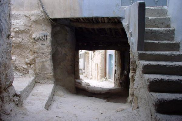 Picture of Maloula (Syria): Old street in Maloula