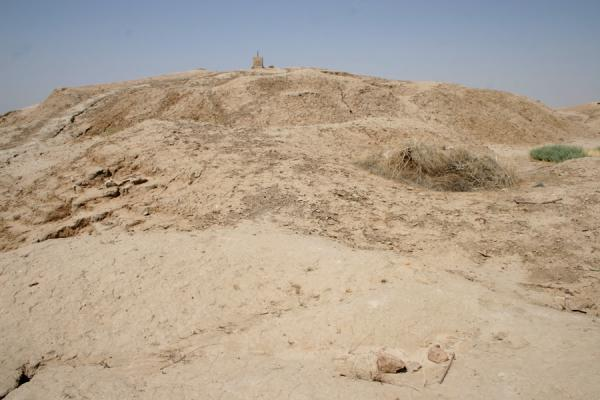 Image of Ziggurat or Mesopotamian pyramid - according to our imagination, Mari, Syria