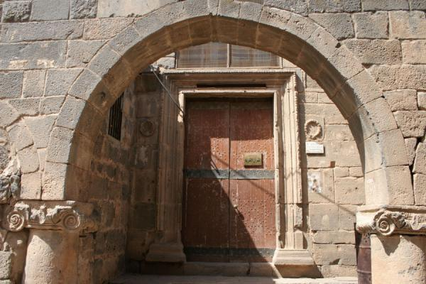 Picture of Omar Mosque (Syria): Entrance of the Omar mosque