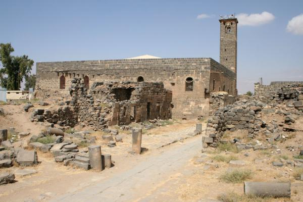 Picture of Omar Mosque (Syria): Omar mosque seen from a distance