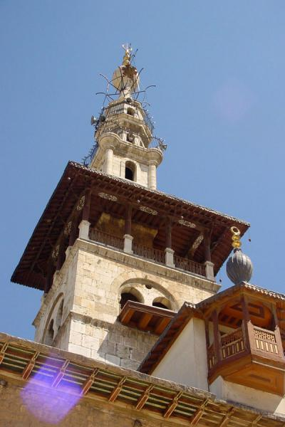 Picture of Omayyad Mosque (Syria): al Arous Minaret - Omayyad mosque, Damascus