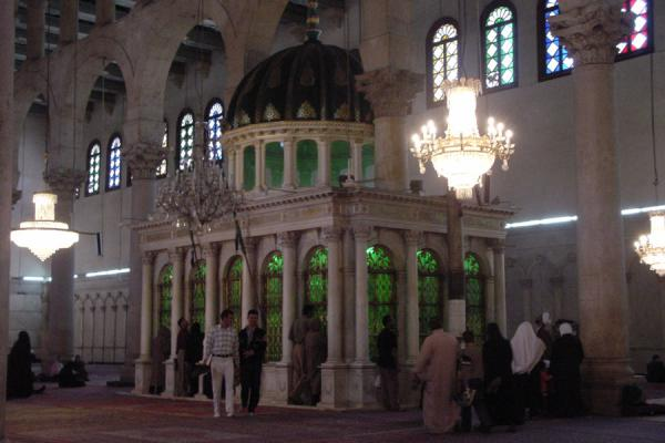 Picture of Omayyad Mosque (Syria): Shrine of Prophet Yahya, Omayyad mosque, Damascus