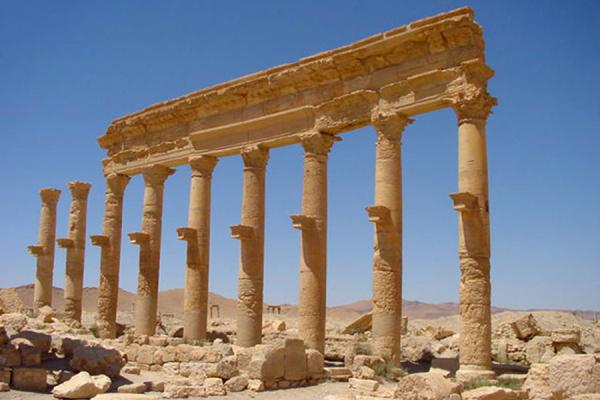 Picture of Palmyra City (Syria): Palmyra; street
