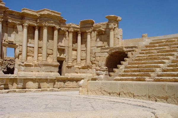 Picture of Palmyra City (Syria): Palmyra; theatre