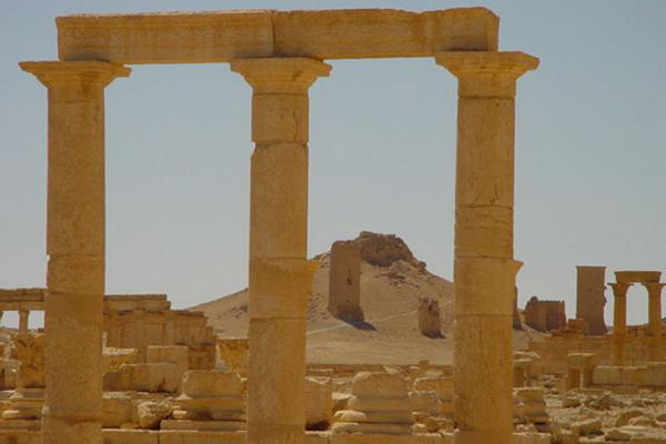 Near the Valley of Tombs | Palmyra City | Syria