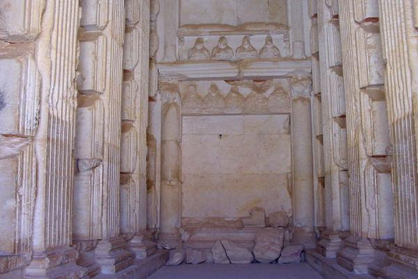 Picture of Tombs of Palmyra (Syria): Inside rich family tomb tower; Palmyra