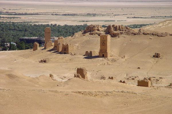 Picture of Tombs of Palmyra (Syria): Valley of Tombs; Palmyra