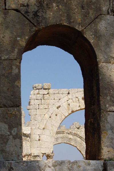 Miraculously, many arches are still standing | Saint Simeon | Syria