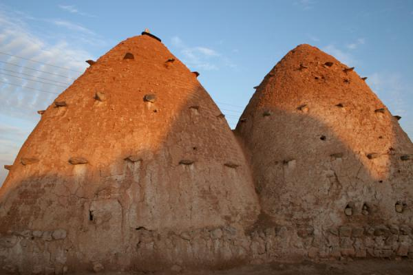 Picture of Beehive houses (Syria): Two beehive houses in Sarouj