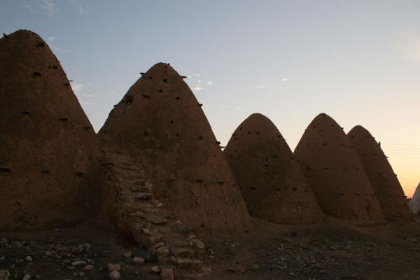 Picture of Beehive houses (Syria): Sarouj: beehive houses in a row