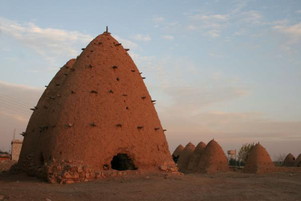 Picture of Beehive houses (Syria): Beehive houses everywhere in this part of Sarouj