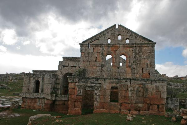One of the remaining buildings of Serjilla | Serjilla | Syrië