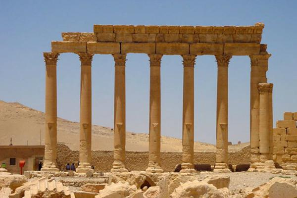 A row of columns | Temple of Bel | Syria