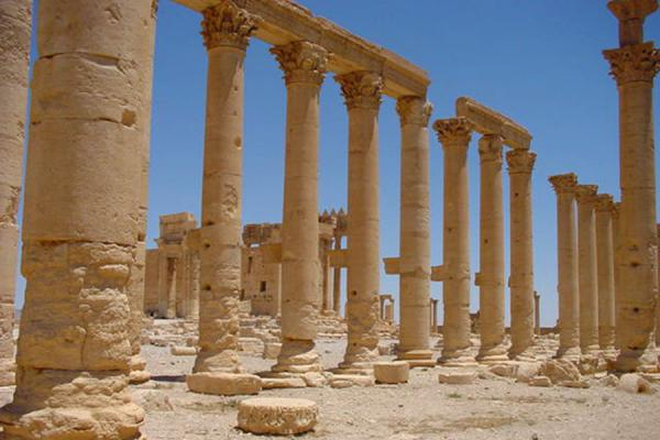 Inside the temple complex | Temple of Bel | Syria