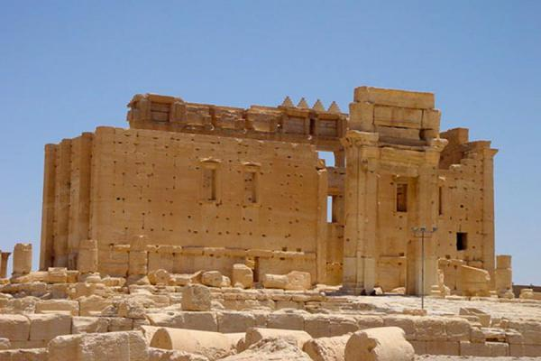 The temple itself | Temple of Bel | Syria
