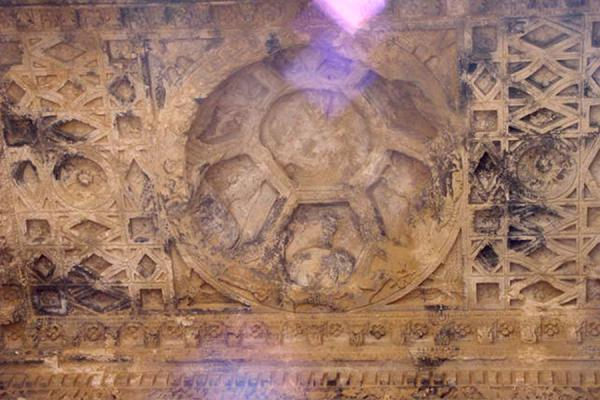 Cosmic appearances in the roof of the temple | Temple of Bel | Syria