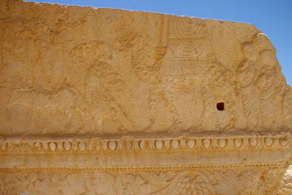 Picture of Detail of Temple of Bel - Palmyra