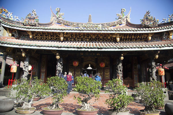 Picture of The inner temple of the Baoan complexTaipei - Taiwan