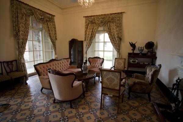 Picture of San Domingo Fort (Taiwan): Furniture giving an idea of what the British consular residence looked like