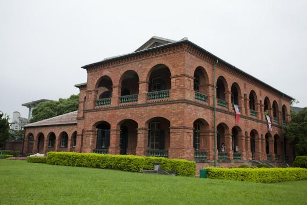 Picture of San Domingo Fort (Taiwan): Square building that once was the British consular residence, on the Fort San Domingo terrain