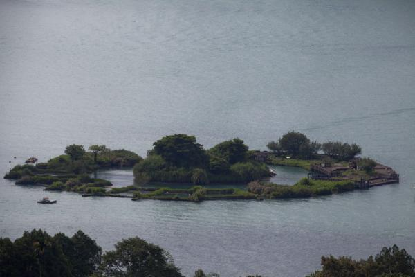 View of Lalu island in the middle of Sun Moon Lake | Sun Moon Lake | Taiwan