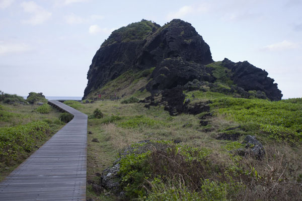 Foto de Volcanic rock formations on Sanxiantai, the Platform of the Three ImmortalsEast Coast - Taiwán