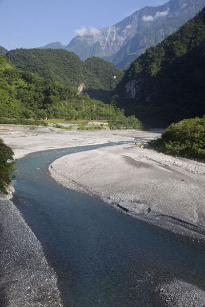 Foto van Liwu river near the entrance of Taroko GorgeTaroko Gorge - Taiwan