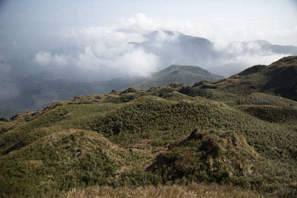 View from the peak of Mount Qixian, the highest point of Yangmingshan National Park | Yangmingshan National Park | 台湾