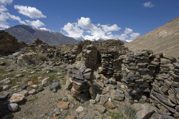 Picture of Abrashim Qala (Tajikistan): Inside the ruins of Abrashim Qala