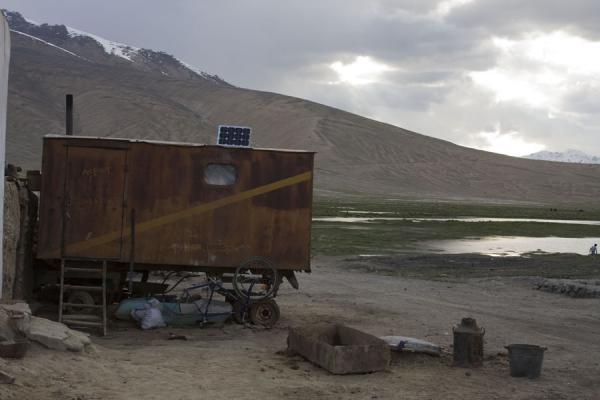 Picture of Bulunkul (Tajikistan): Shed in Bulunkul