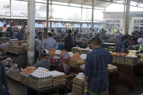 Photo de Egg section of Istaravshan BazaarIstaravshan - Tajikistan