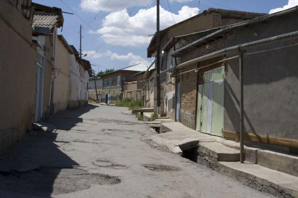 Picture of Istaravshan Old Town (Tajikistan): Empty street in the old town of Istaravshan